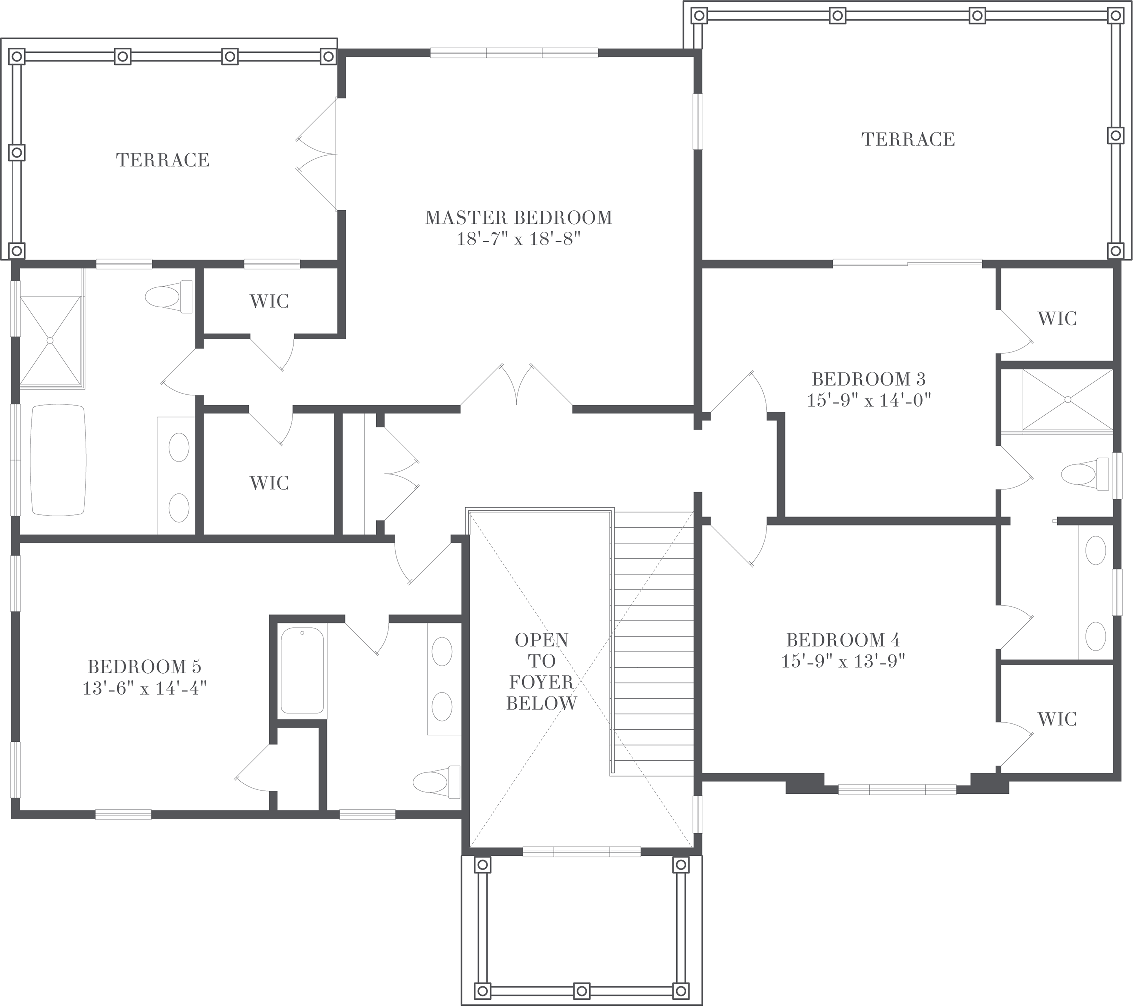 Cameron - Floorplan - Private Quarters
